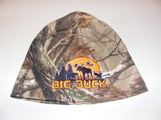 Tuque 8'' Big Buck / Realtree