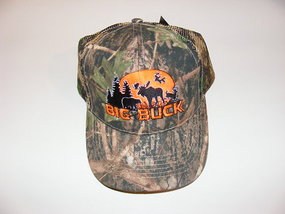 CASQUETTE CAMO BIG BUCK/TRUE TIMBER