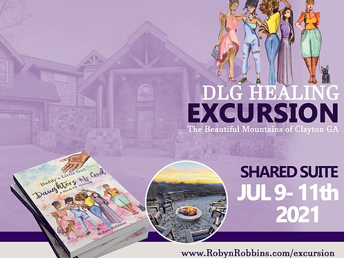DLG Healing Excursion Shared Suite
