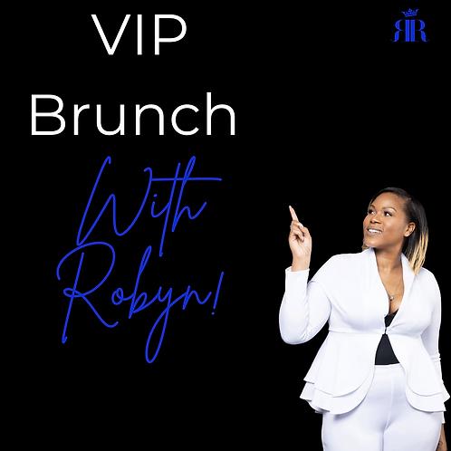 VIP Brunch with Robyn Virtual Edition