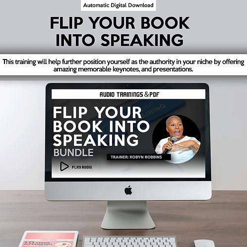 Flip Your Book Into Speaking Bundle