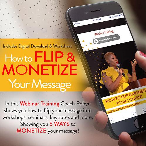 How to Flip & Monetize Your Message Bundle