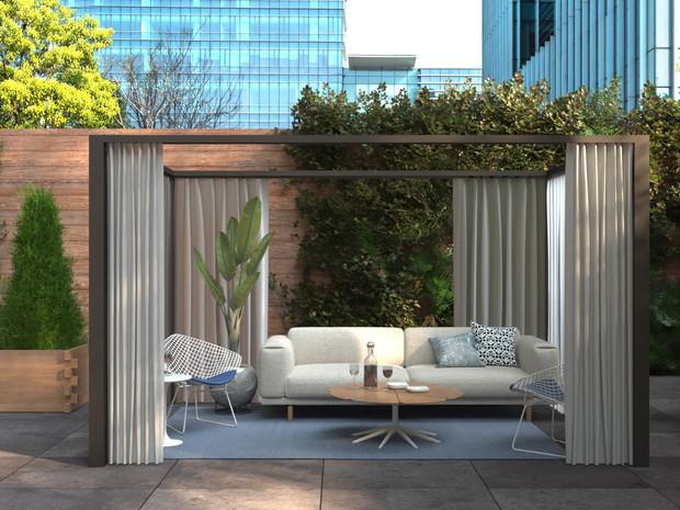 Beautiful restaurant patios
