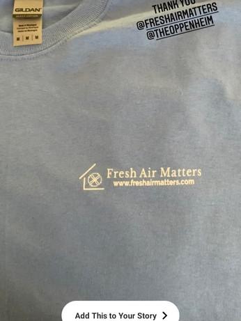 Fresh Air Matters - The Fresh Air Matters Initiative - @tjshoe