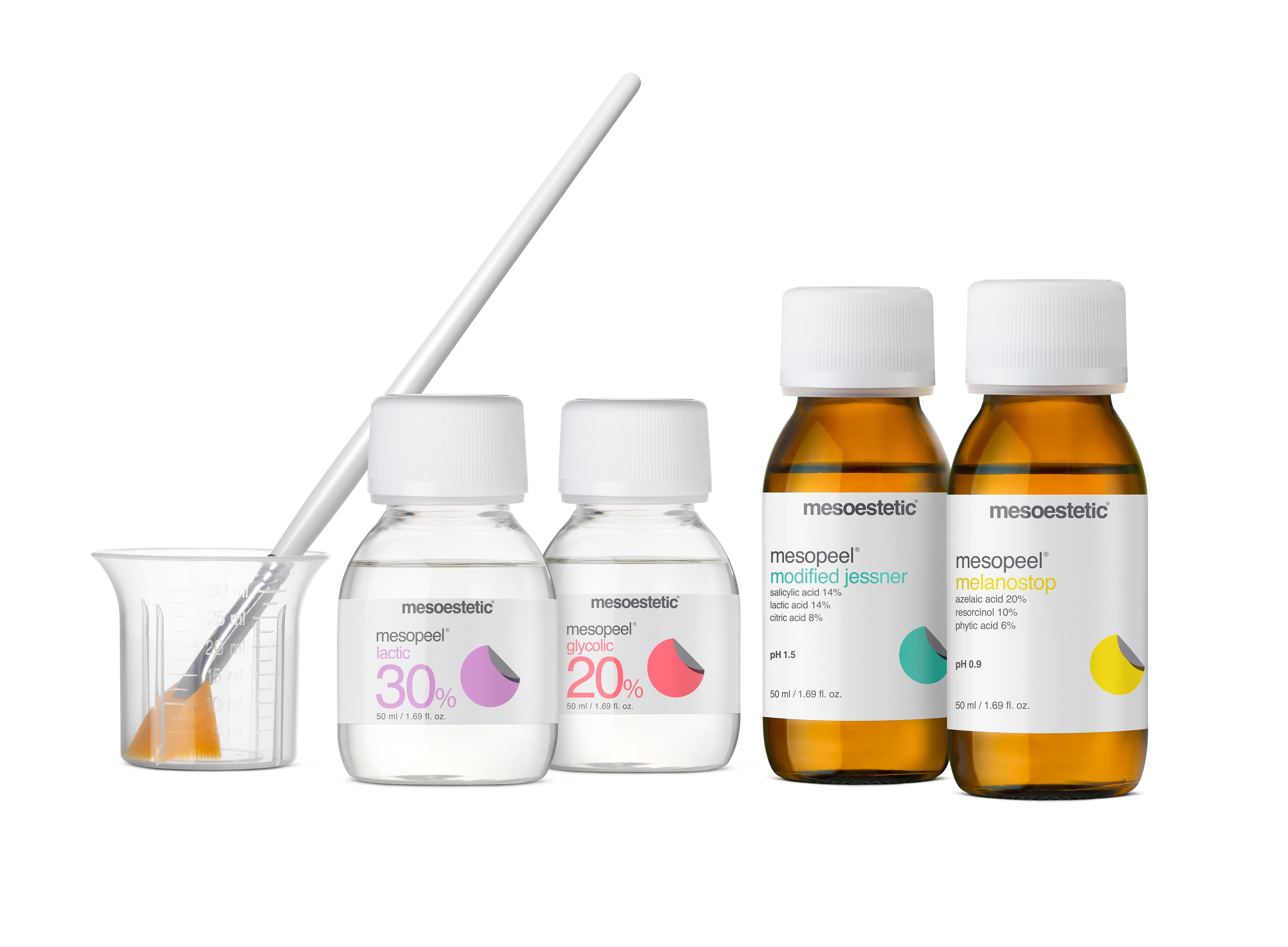 Pijnloze peeling acné/rimpels/dofheid