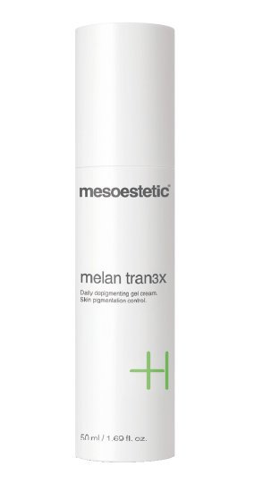 Mesoestetic tran3x depigmentation gel cream