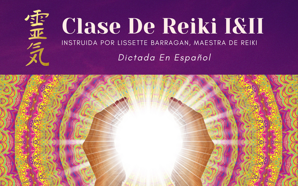 New CLASE DE REIKI I&II