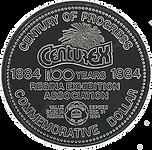 1984 CenturEx Dollar (obverse).png