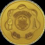 1993 RCC 40th Anniversary Medal [goldine