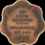 1985 CNA Convention Medal [bronze] (reve