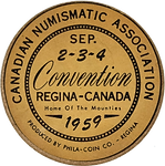 1985 CNA Convention Medal [bronze] (obve