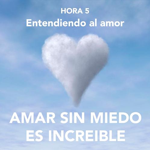 HORA 5 - AMAR SIN MIEDO ES INCREÍBLE - ENTENDIENDO AL AMOR
