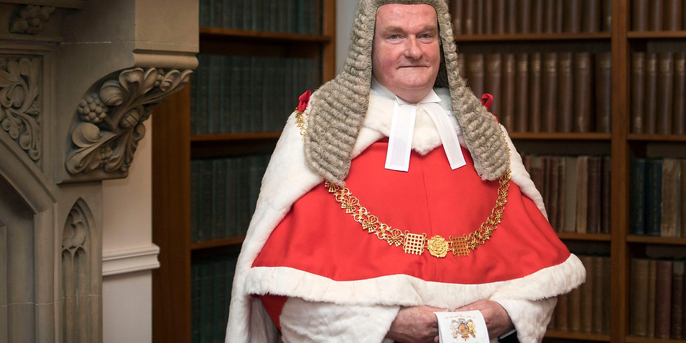 The Lord Chief Justice on Sentencing: The Judge's Role