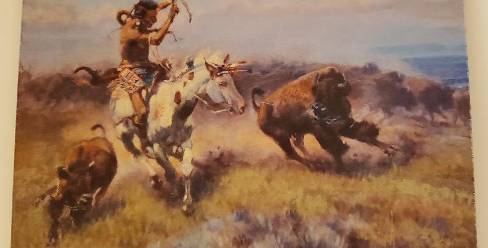 Native American Scene Mouse Pad