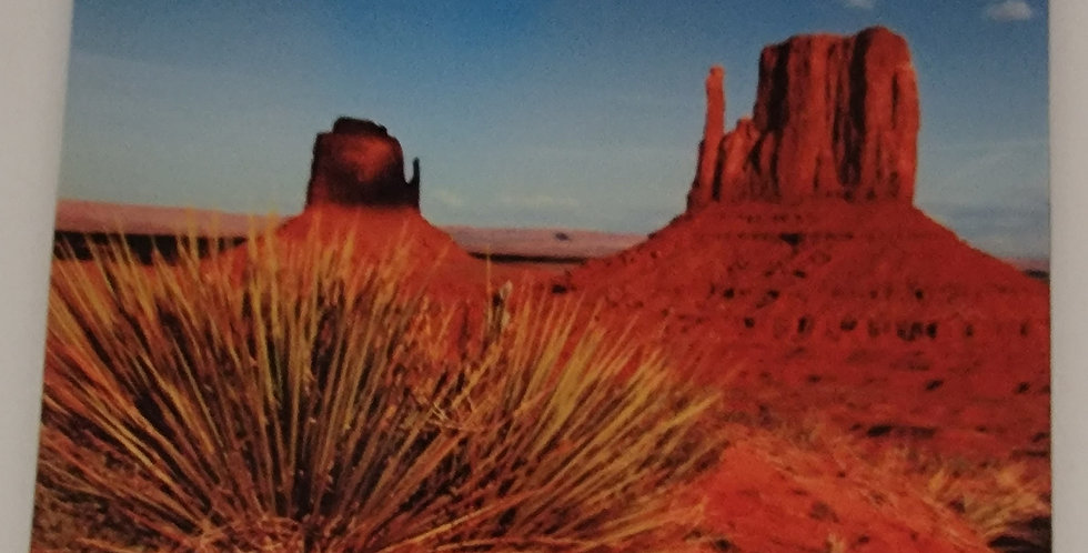 """Mouse Pad Monument Valley 7.75""""x 9.25"""" 1/4' Thick"""