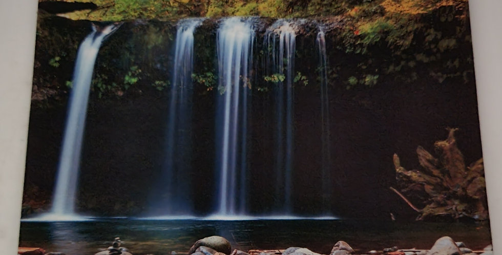 """Mouse Pad Waterfall 7.75"""" x 9.25"""" x 1/4"""" Thick"""
