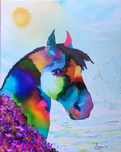Confetti Horse Run for the Roses.jpg
