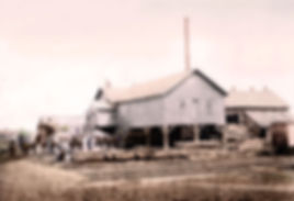 George Blakeslee saw mill circa 1860's