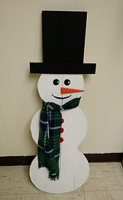 Galien Snowman Street Decorations
