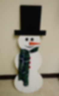 Galien Snowman Street Decorations