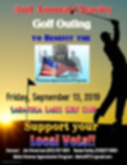 GOLF 2019 Front Page of Registration and