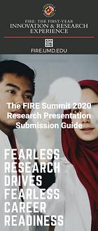 The FIRE Summit 2020 - Research Presenta