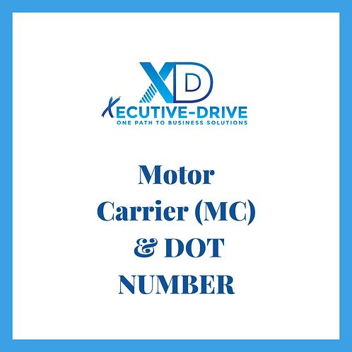 Motor Carrier MC & DOT Number