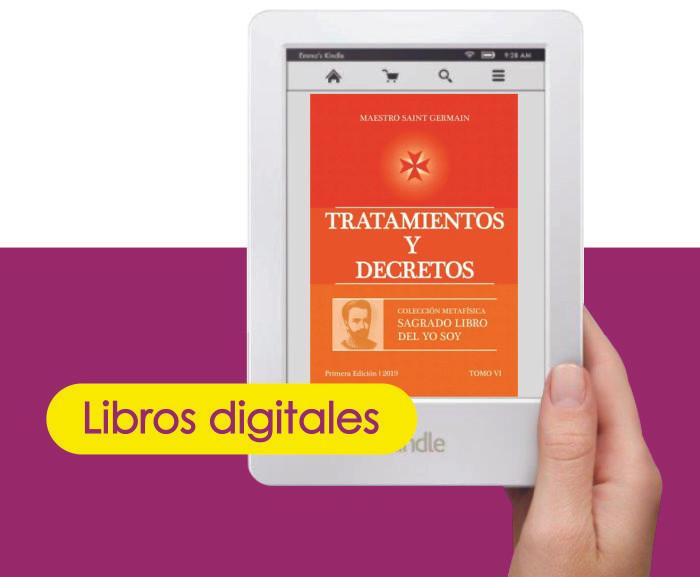 Tratamientos y Decretos del Maestro Saint Germain, prólogo por Rubén Cedeño