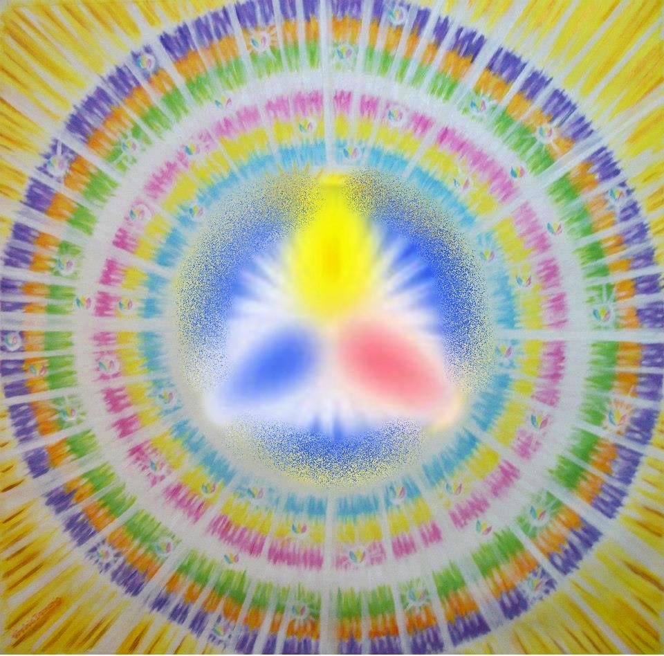 Esferas y Colores, Tratamientos y Decretos por el Maestro Saint Germain