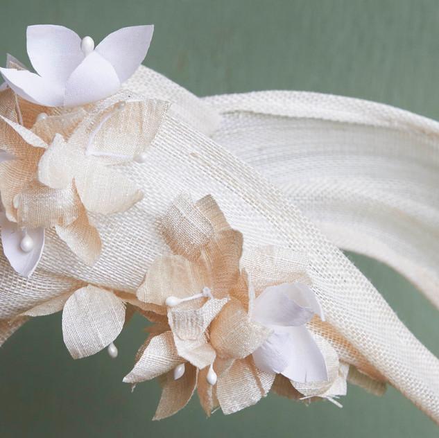 Silk Hydrandea Cignon
