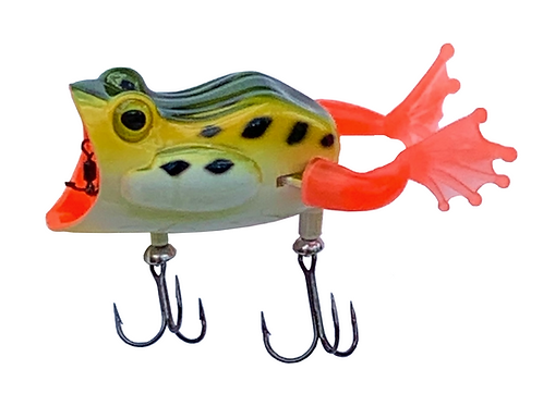 22-Five Mechanical Frog, Surface Lure, Set of 2 Lures, Free Shipping