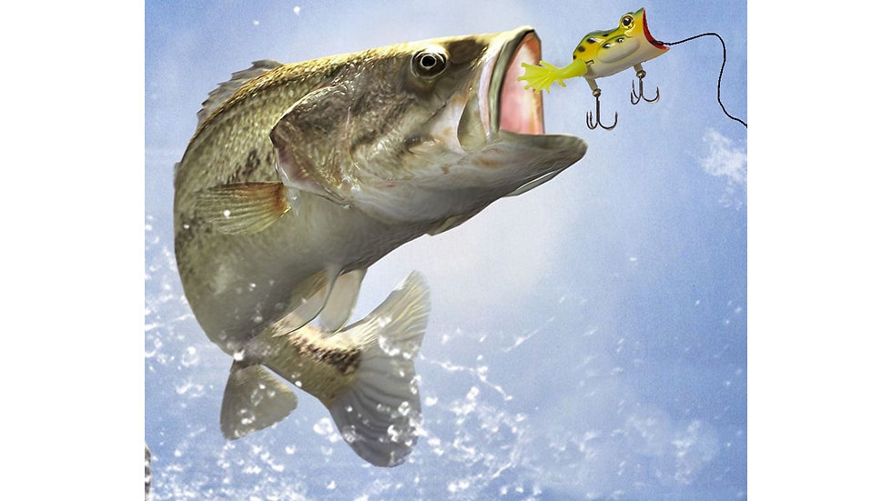 22-five fishing lure for big mouth bass