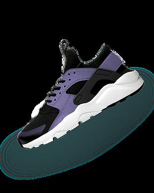 Sneaker violet
