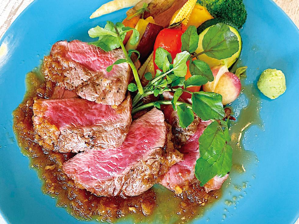 アンガス熟成肉のタリアータ