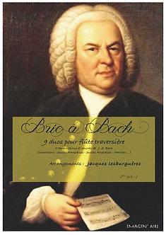 Bric à Bach - partition imprimée - 13 pages