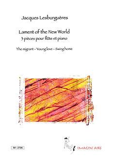 Lament of the new World pour flûte et piano - IM 2706