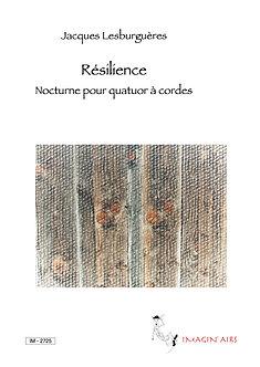 Résilience pour quatuor à cordes - IM 2725