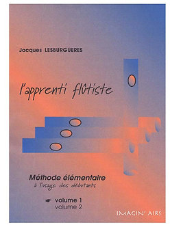 l'apprenti flûtiste - partition imprimée - 73 pages