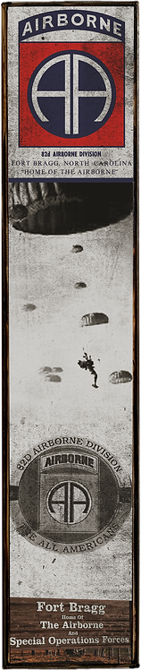 82nd Airborne Division-Fort Bragg