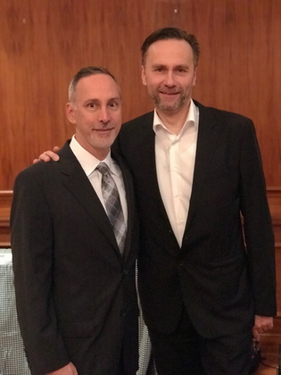 Dr. Henning Saupe and Dr. Michael Diamond