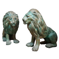 Bronze Lions