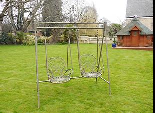 Metal Garden Swing