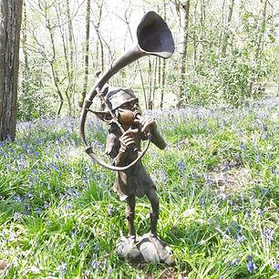 Bronze Trumpet Pixie Antix Antiques.jpg
