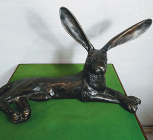 Antix Antiques Bronze Laying Hare.jpg
