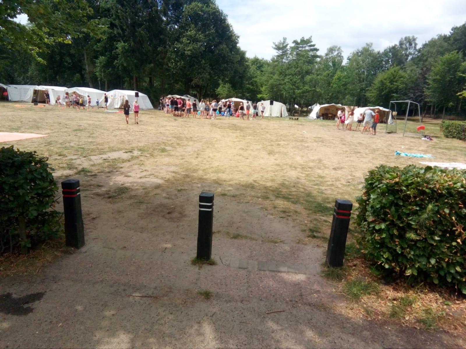 Een week in tenten!