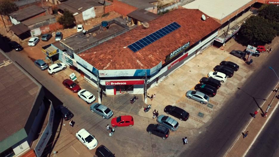 Usina Solar Comercial