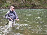Fishing and spey casting near London