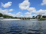 Traditional River Thames Weirpool Fishing
