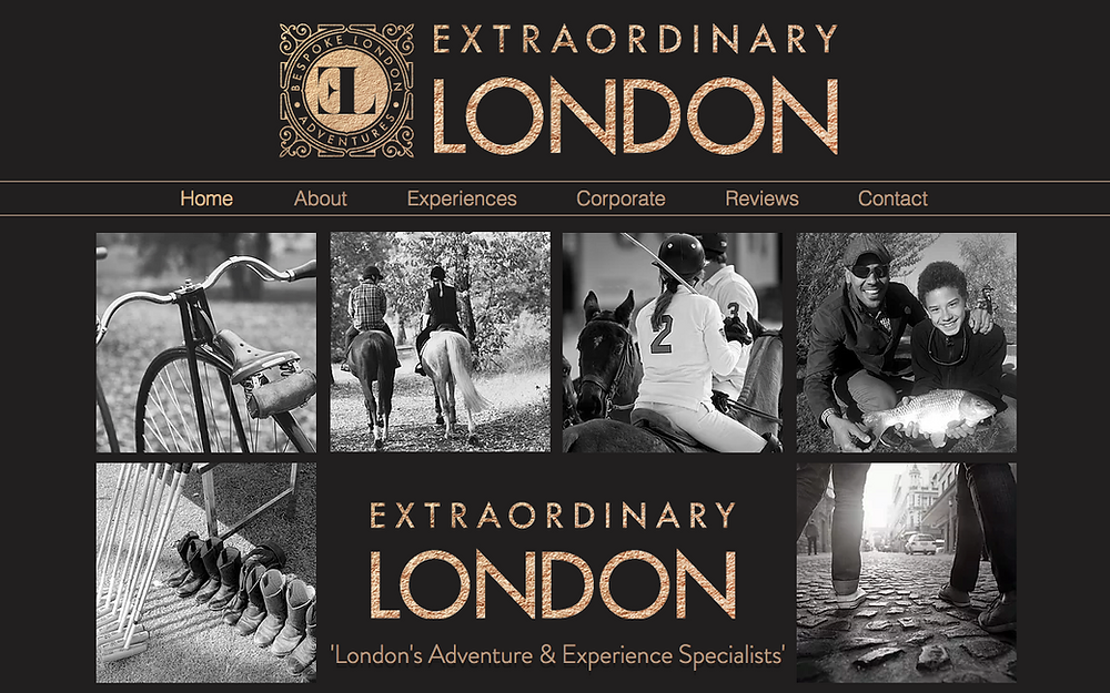 Extraordinary London website goes live. 10th May 2017.
