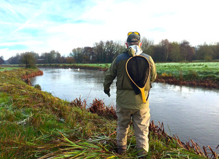 Our River Test, Grayling day has arrived.